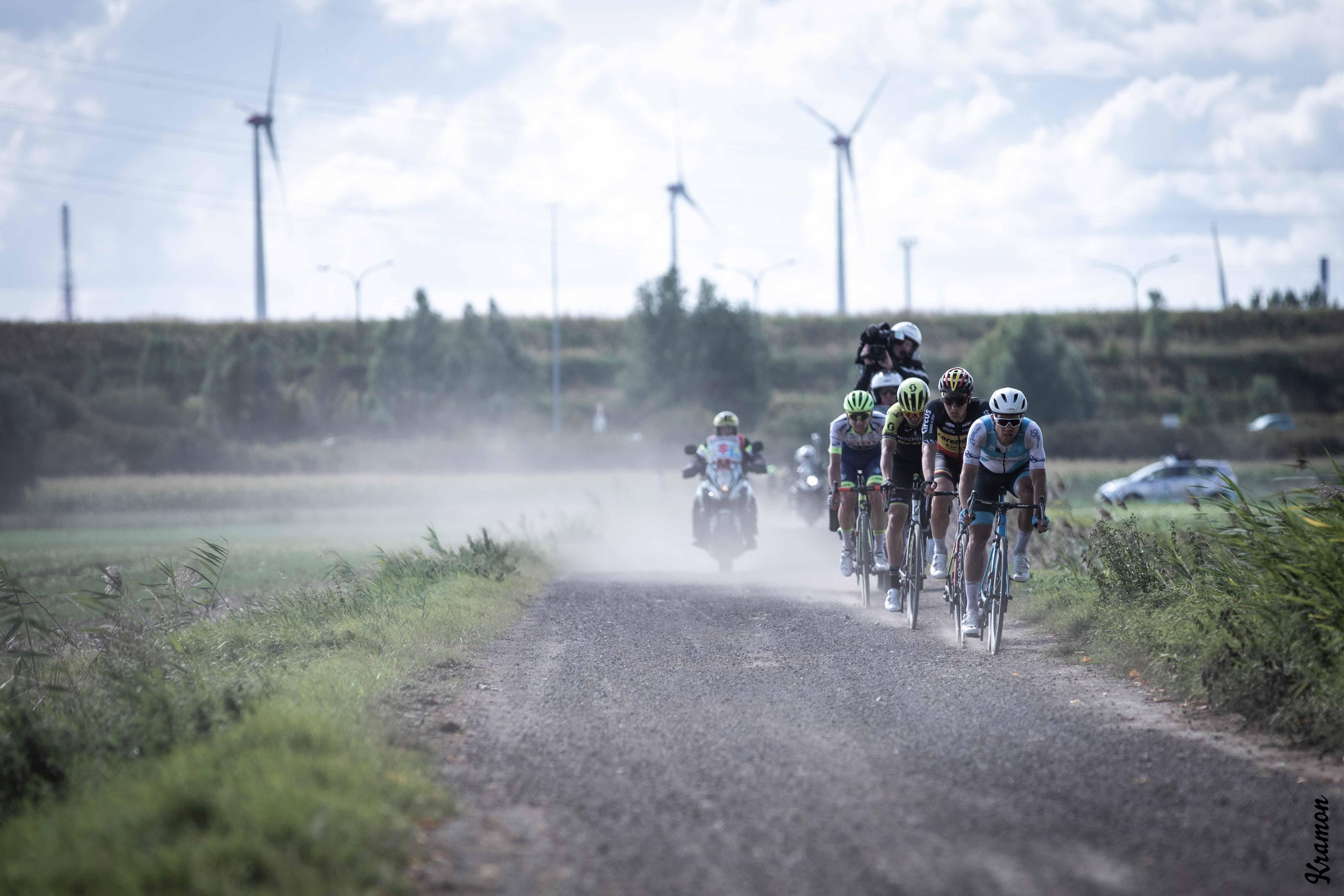 Johan Museeuw en Beat Cycling verkennen onverharde wegen van Antwerp Port Epic