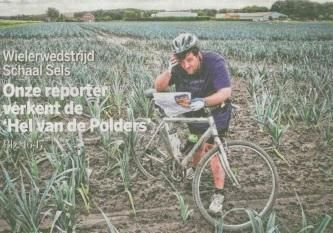Reporter Gazet van Antwerpen verkent de 'Hel van de Polders'